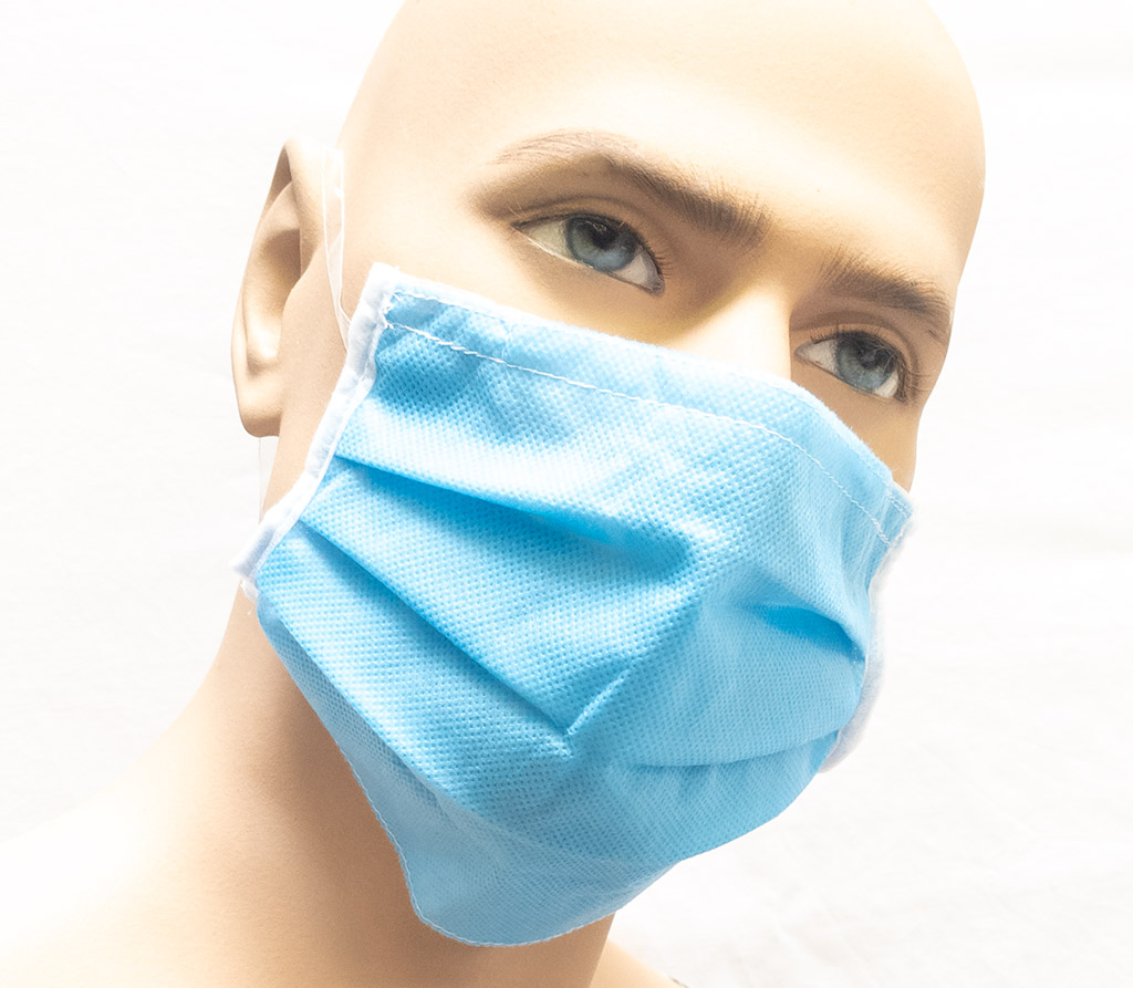Spira Protekto Behelfsmaske mit POLYGIENE ViralOff® – wasserabweisend – Modell SP01/2