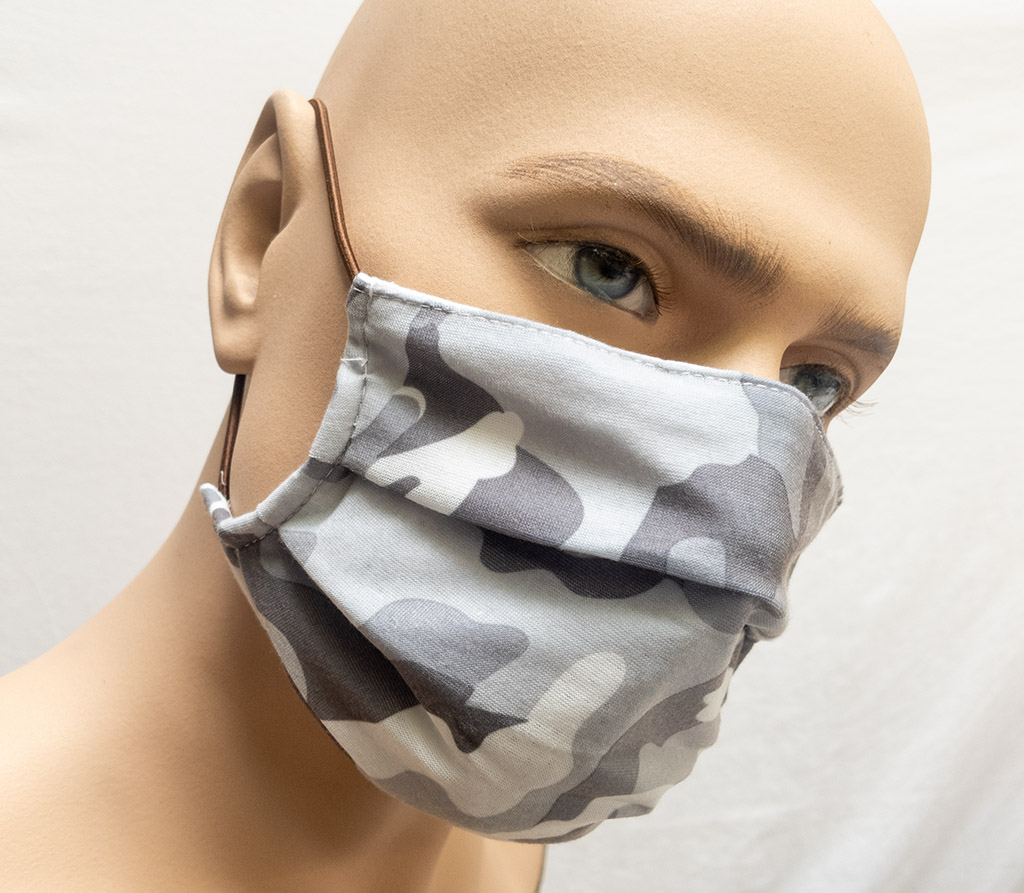 Spira Protekto Behelfsmaske mit POLYGIENE VIRALOff® – wasserabweisend – Modell SP03
