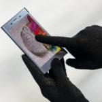 ViralOff® Handschuhe von Spira Protekto – für Touchscreen, Noppen, antiviral, antibakteriell – H03