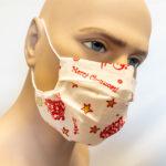 Spira Protekto Behelfsmaske mit POLYGIENE ViralOff® – wasserabweisend – Modell SP03 – angenehmes Vlies